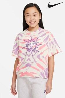 Nike Sportswear Tie Dye Crop T-Shirt