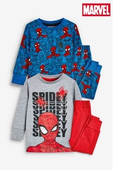 2 Pack Spider-Man™ Snuggle Pyjamas (9mths-8yrs)