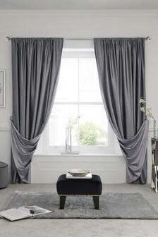 Reversible Slot Top Curtains
