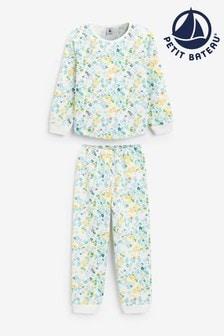 Petit Bateau Multicoloured Floral Pyjamas