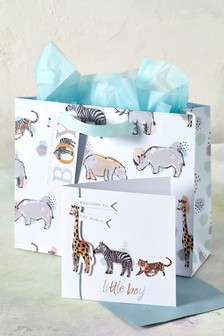 Safari Bag and Card Bundle