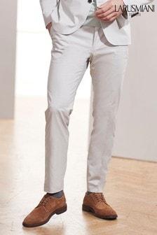 Larusmiani Signature Cotton Blend Suit: Trousers