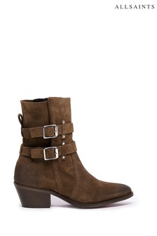 AllSaints Harriet Pull-On Suede Boots