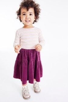 חצאית שכבות מקורדרוי (3 חודשים עד גיל 7)
