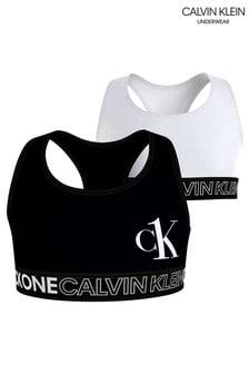 Набор белых топов-бра Calvin Klein CK One (2 шт.)