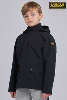 Barbour® International男童款防水Duke外套