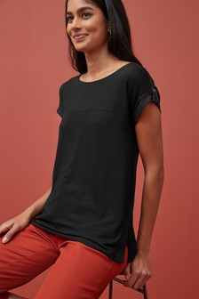 Boxy Jersey T-Shirt
