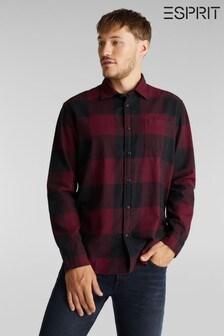 Esprit Red Check Woven Shirt