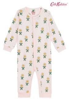 Cath Kidston Petal Flowers Footless Sleepsuit