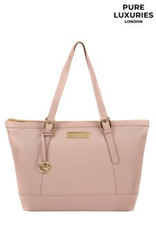 Pure Luxuries London Emily Leather Tote Bag