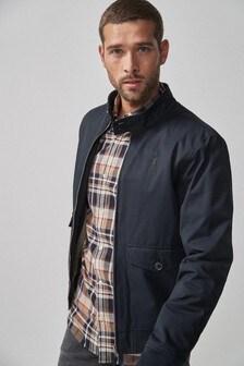 Borg Lined Harrington Jacket