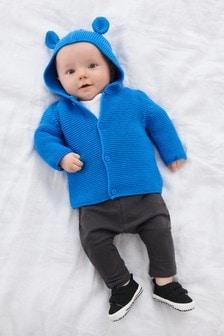Bear Hooded Cardigan (0mths-3yrs)