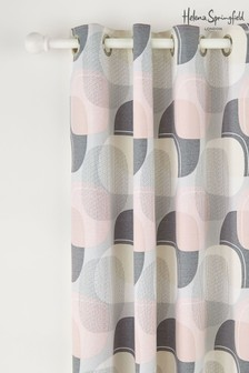 Helena Springfield Arken Geo Eyelet Curtains