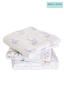 aden + anais™ Musy Squares 3 Pack Cotton Muslin Disney® baby - My Darling Dumbo