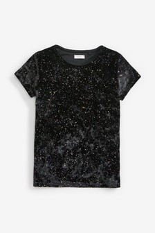 Zamatové tričko (3 – 16 rok.)