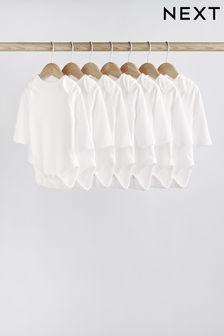 7 Pack Long Sleeve Bodysuits (0mths-3yrs) (645262)   $19 - $22