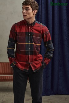 Barbour® Crimson Tartan Large Check Shirt