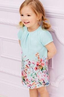 Трикотажное платье с цветочным рисунком (3 мес.-7 лет)