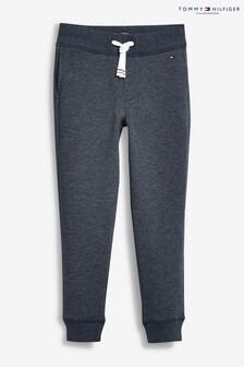 Pantalon Tommy Hilfiger bleu basique en molleton