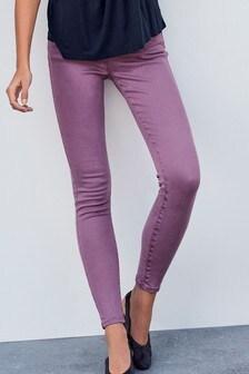Мягкие джинсы скинни