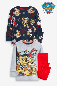 2 Pack PAW Patrol Snuggle Pyjamas (12mths-7yrs)