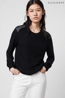סוודר של AllSaints דגם Baya בשחור