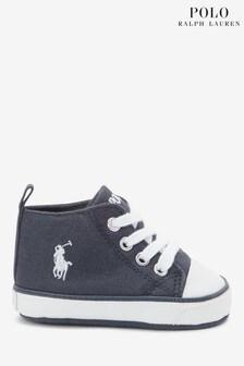 Polo Ralph Lauren Navy Hampton Shoes