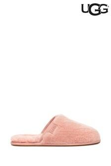 Розовые тапочки UGG® Fluffette