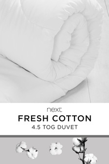 Breathable Cotton 4.5 Tog Duvet