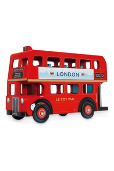 Le Toy Van Wooden London Bus
