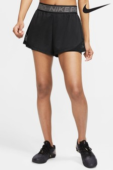Nike Black 2-In-1 Woven Shorts