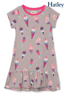 Hatley Cool Treats Kleid mit Saumvolant