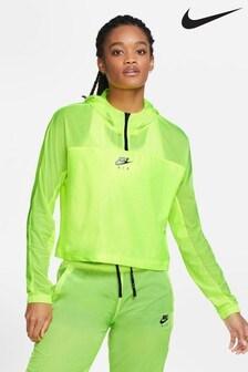 Běžecká bunda Nike Air na 1/2 zip a s kapucí