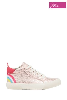 Joules Coast Pump Mid High Top Trainers