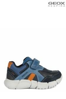 Geox Baby Jungen/Unisex Flexyper Sneaker, Dunkelblau/Marineblau