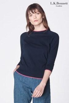 סוודר מצמר מעורב של L.K.Bennett דגם Bernice