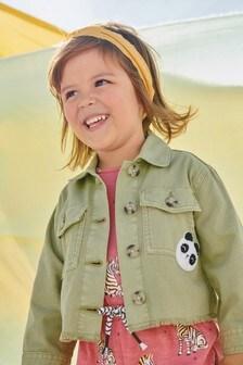 Хлопковая куртка с вышивкой (3 мес.-7 лет)