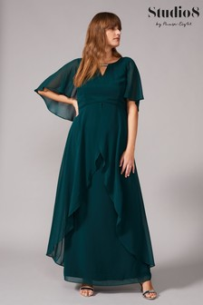 Зеленое платье макси Studio 8 Ruby