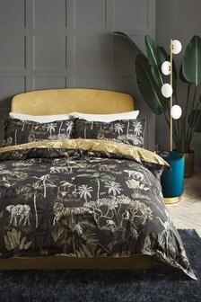 100% Cotton Jungle Safari Duvet Cover and Pillowcase Set