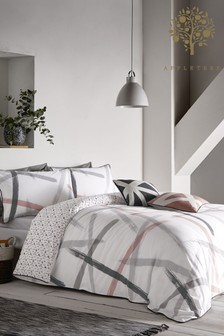 Appletree Exclusive To Next Leda Cotton Duvet Cover and Pillowcase Set