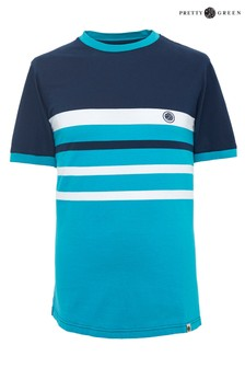 Pretty Green Kendrick Colourblock T-Shirt