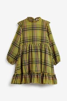 Платье в клетку (3-16 лет)