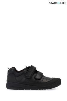 Start-Rite Black Bolt Shoes