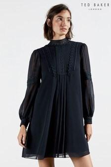 Платье-туника с кружевной отделкой Ted Baker Georrgi