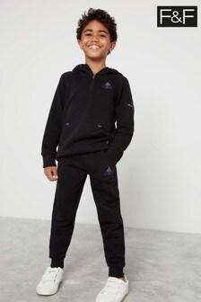 Czarne spodnie do biegania F&F