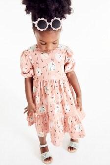 Многоярусное платье (3 мес.-7 лет)