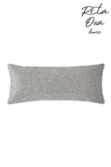 Rita Ora Crista Metallic Texture Cushion