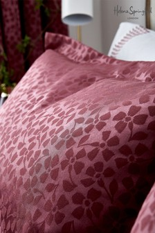 Helena Springfield Red Cecila Embroided Pillowcase