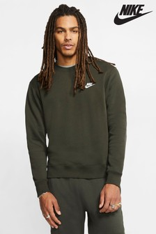 Bluza z polaru z okrągłym dekoltem Nike Club