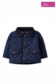Синяя стеганая куртка Joules Milford